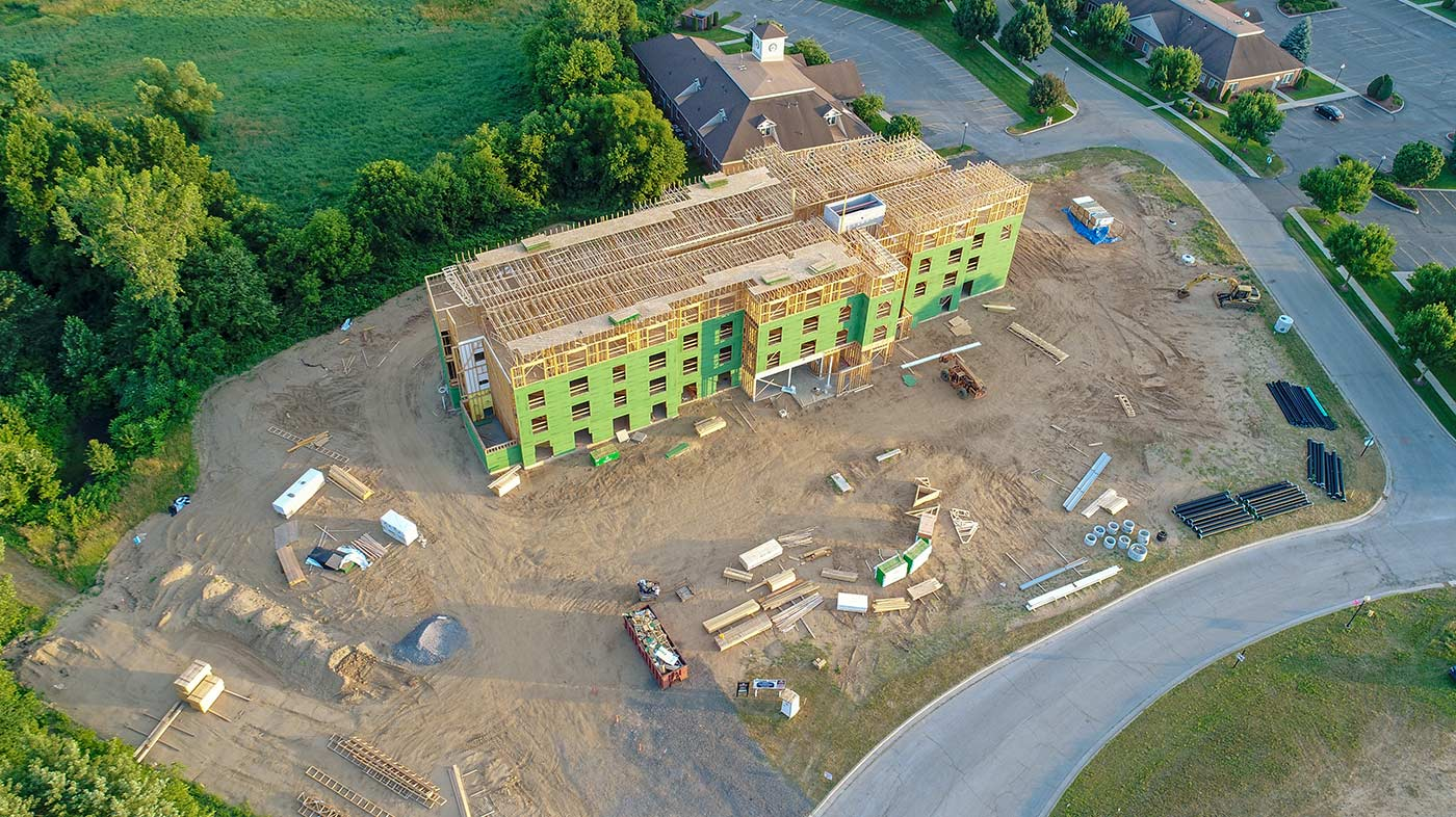 Schrock Commercial Construction builds retail, restaurant, office space, medical and more in Goshen, Elkhart, Warsaw, Middlebury, Plymouth, Mishawaka and South Bend, Indiana.