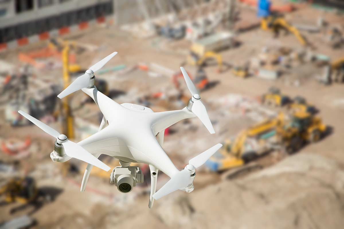 Schrock Commercial Construction in Goshen, Indiana utilizes the latest technology including drones to ensure clear communication and great quality.